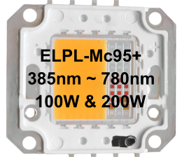ELPL-Mc95+ 100W COB with 95+% Match to the MCree Curve